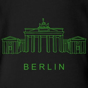 Brandenburg Gate Berlin Baby & Toddler Shirts - Short Sleeve Baby Bodysuit