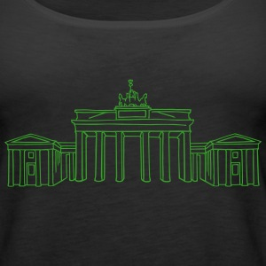 Brandenburg Gate Berlin Tanks - Women's Premium Tank Top
