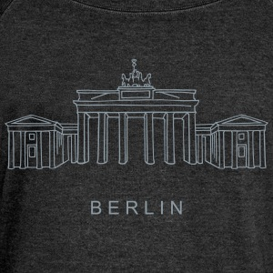 Brandenburg Gate Berlin Long Sleeve Shirts - Women's Wideneck Sweatshirt