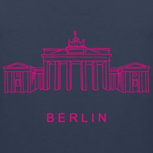 Brandenburg Gate Berlin Tank Tops - Men's Premium Tank