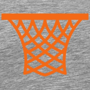 Basketball Hoop T-Shirts - Men's Premium T-Shirt
