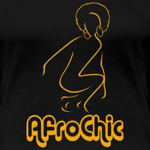 Afro Chic plus tee - Women's Premium T-Shirt