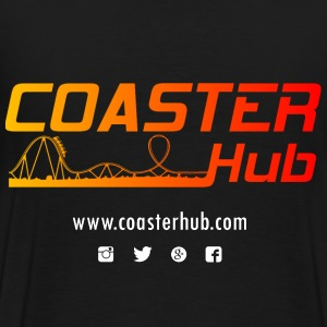 Coaster Hub Black T-Shirt - Men's Premium T-Shirt