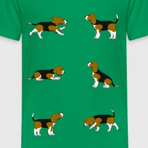 Beagle Auswahl Baby & Toddler Shirts - Toddler Premium T-Shirt