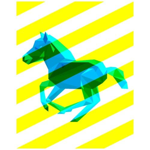 Horse With Stripes
