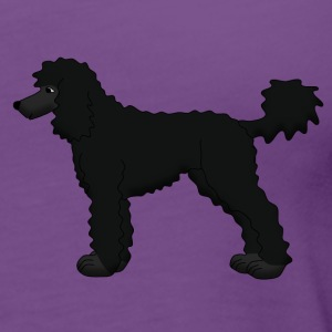 poodle black Tanks - Women's Premium Tank Top