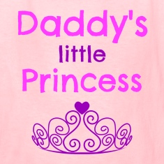 Daddys Little Princess Kids' Shirts