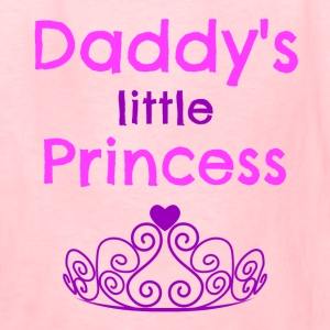 Daddys Little Princess Kids' Shirts - Kids' T-Shirt