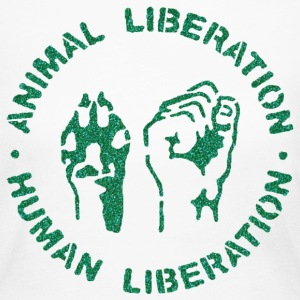 animal rights Long Sleeve Shirts - Women's Long Sleeve Jersey T-Shirt