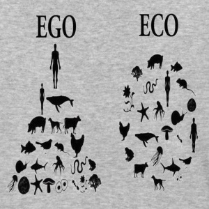 animal rights ego vs eco T-Shirts - Baseball T-Shirt