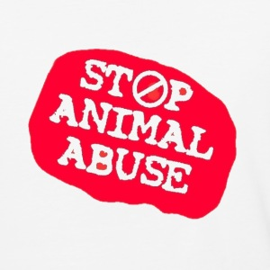 stop animal abuse T-Shirts - Baseball T-Shirt