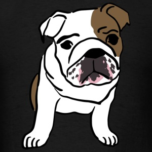 Dog Bull Dog - Men's T-Shirt