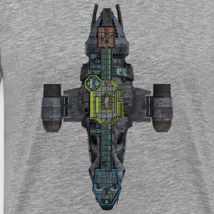 space ship - Men's Premium T-Shirt