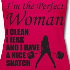 I'm The Perfect Woman Tanks