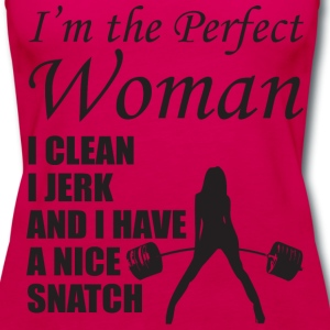 I'm The Perfect Woman Tanks - Women's Premium Tank Top