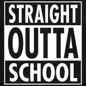 Straight Outta School Long Sleeve Shirts - Women's Wideneck Sweatshirt