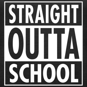 Straight Outta School Tanks - Women's Premium Tank Top