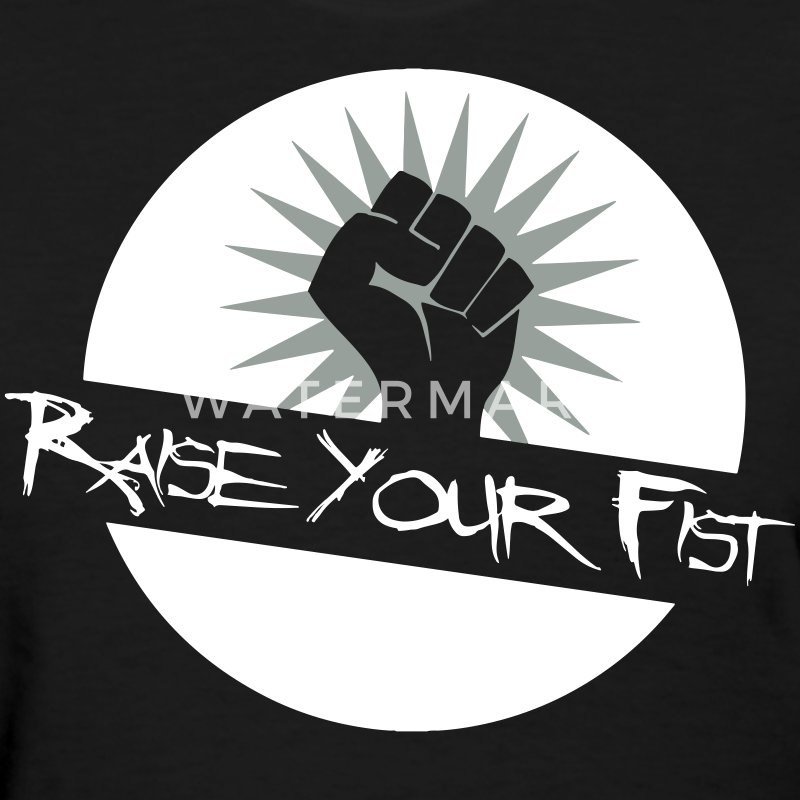 Raise Your Fist For Angerfist Women's T-Shirts - Women's T-Shirt