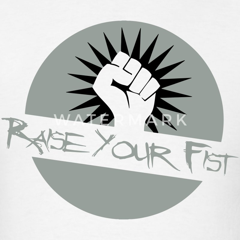 Raise Your Fist For Angerfist T-Shirts - Men's T-Shirt