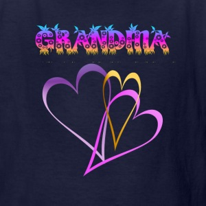 GRANDMA, Love and Hearts - Kids' T-Shirt