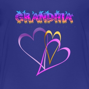 GRANDMA, Love and Hearts - Toddler Premium T-Shirt
