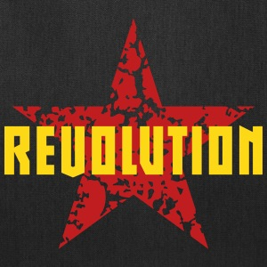 Revolution (Red Star) Bags & backpacks - Tote Bag