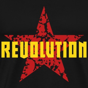 Revolution (Red Star) T-Shirts - Men's Premium T-Shirt