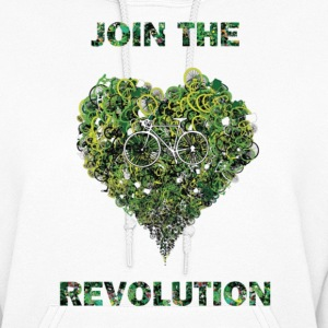 join the revolution Hoodies - Women's Hoodie