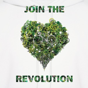 join the revolution Hoodies - Men's Hoodie