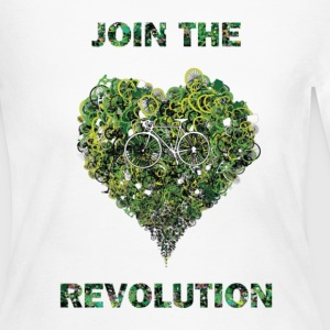 join the revolution Long Sleeve Shirts - Women's Long Sleeve Jersey T-Shirt