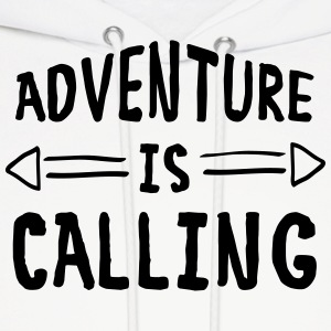 Adventure Is Calling Hoodies - Men's Hoodie