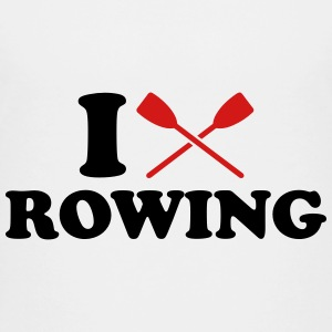 I love Rowing Kids' Shirts - Kids' Premium T-Shirt