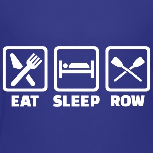 Eat Sleep row Kids' Shirts - Kids' Premium T-Shirt