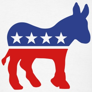 Democratic Donkey T-Shirts - Men's T-Shirt