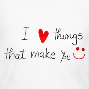 i love things make you Long Sleeve Shirts - Women's Long Sleeve Jersey T-Shirt