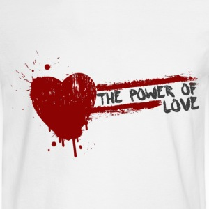 the power of love Long Sleeve Shirts - Men's Long Sleeve T-Shirt