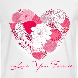 love you forever Long Sleeve Shirts - Men's Long Sleeve T-Shirt