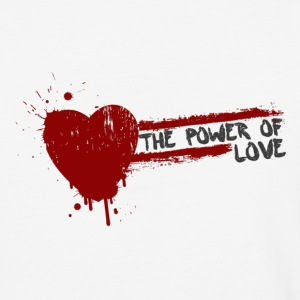 the power of love T-Shirts - Baseball T-Shirt