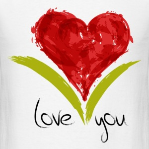 love you T-Shirts - Men's T-Shirt