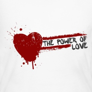 the power of love Long Sleeve Shirts - Women's Long Sleeve Jersey T-Shirt