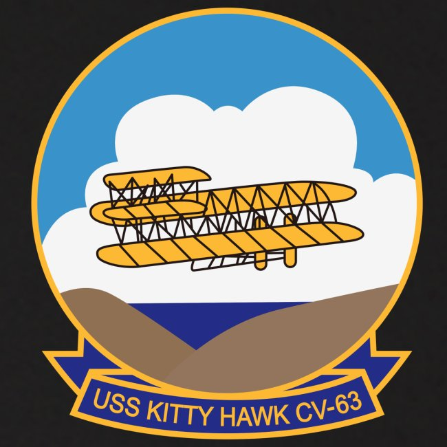 USS KITTY HAWK CV-63 WORLD CRUISE 1987 HOODIE