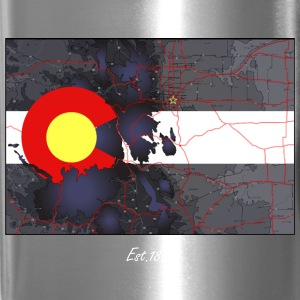 Colorado Topo Map Mug - Travel Mug