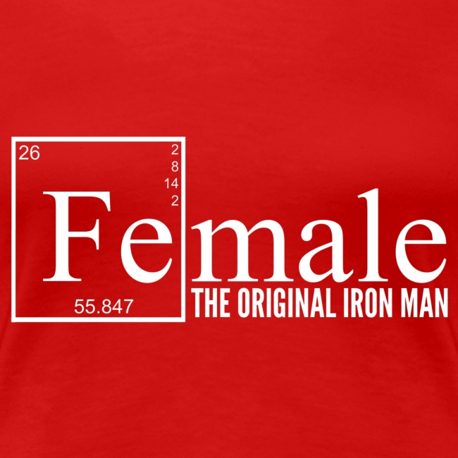 Female Iron Man Tee