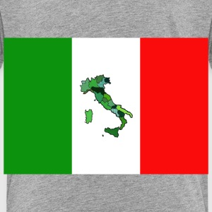 Map and Flag of Italy Baby & Toddler Shirts - Toddler Premium T-Shirt