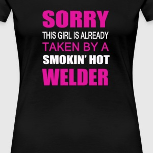 Taken By A Welder - Women's Premium T-Shirt