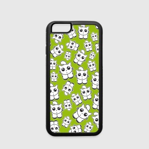 kittens phone green Accessories - iPhone 6/6s Rubber Case