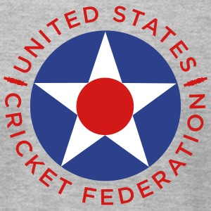 US Cricket Federation Roundel  - Men's T-Shirt by American Apparel