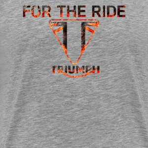 For The Ride Triumph 3D - Men's Premium T-Shirt