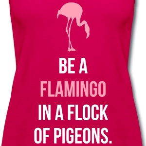 Be A Flamingo Tanks - Women's Premium Tank Top