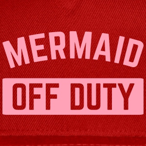 Mermaid Off Duty  Caps - Snap-back Baseball Cap